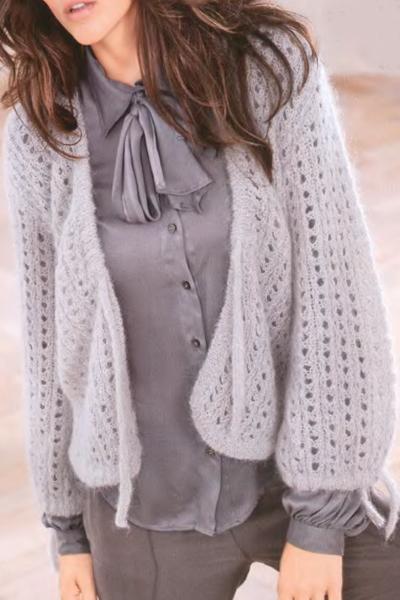 Модели вязание на спицах ангор